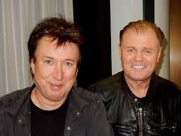 Chris Payne with Rusty Egan