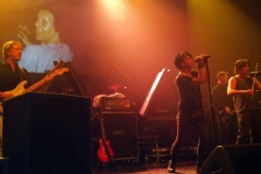 On stage with Numan