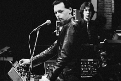 With Numan on Saturday Night Live